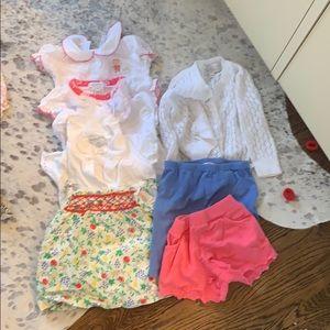 Baby girl summer bundle Babycottons & Boden 3m